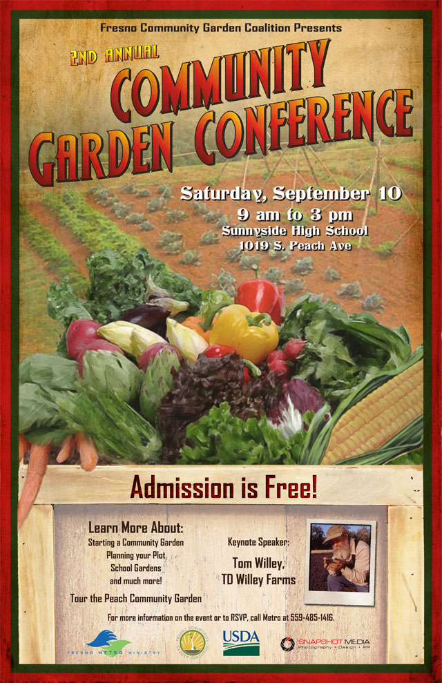 Organic farmer to speak at Community Gardening Conference